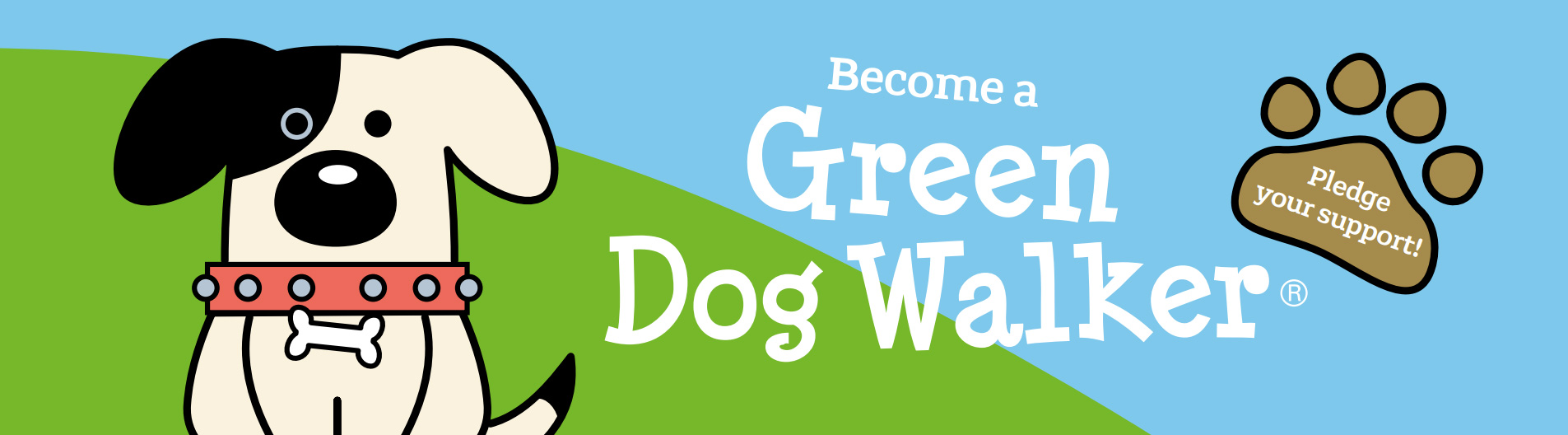 Join our Green Dog Walkers® scheme