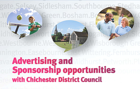 Advertising and sponsorship deals at Chichester District Council