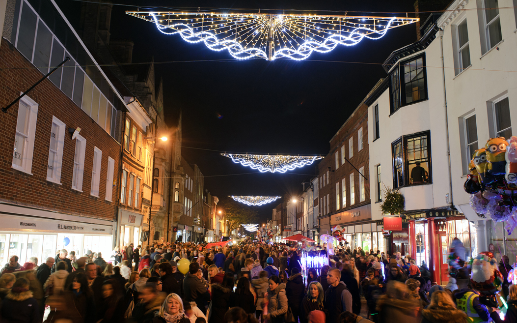 Chichester Christmas lights