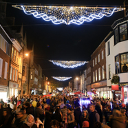Thumbnail image of Chichester Christmas lights