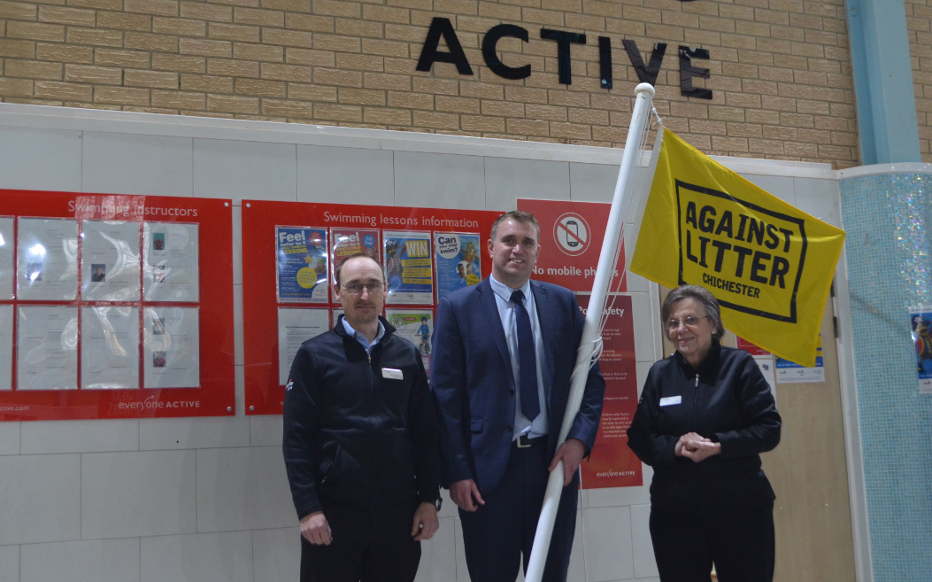 Westgate supporting our Against Litter campaign