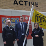 Thumbnail image of Westgate supporting our Against Litter campaign