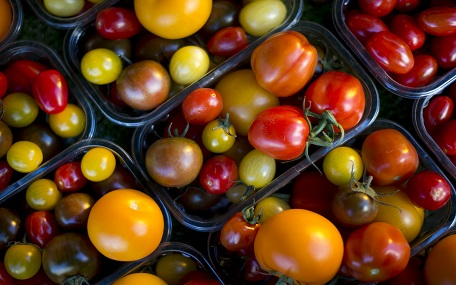 Farmers' Market tomatoes