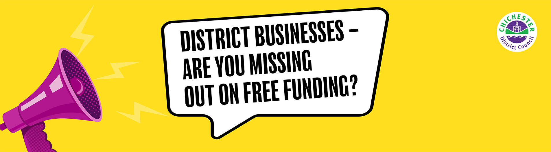 Grant funding for businesses