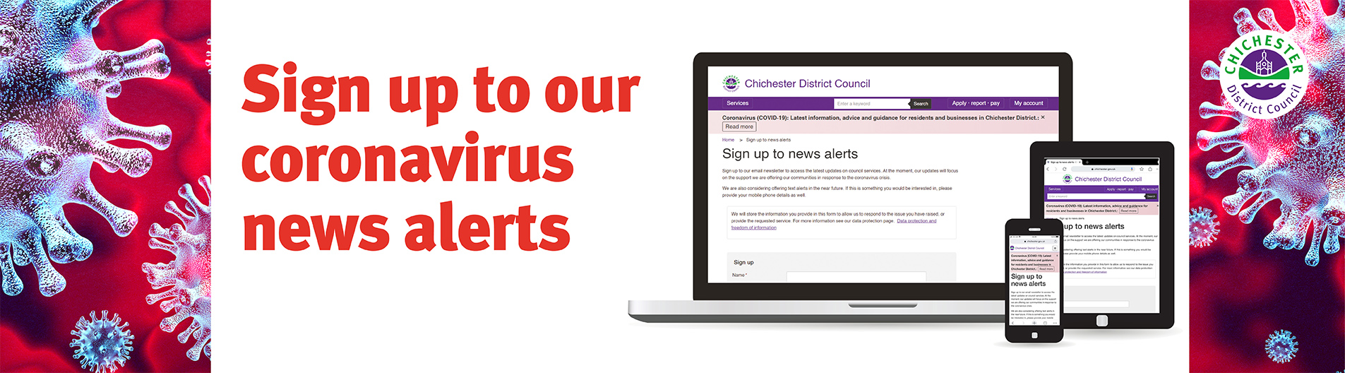 Sign up to news alerts