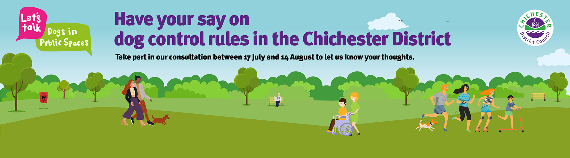 Have your say on dog control rules