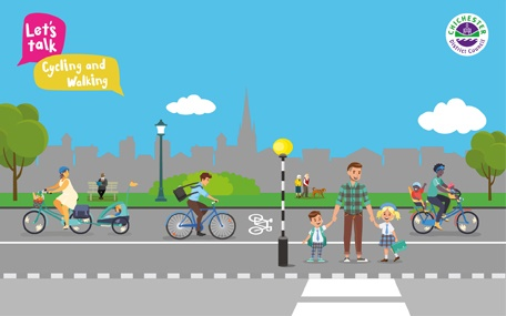 Let's Talk Cycling & Walking
