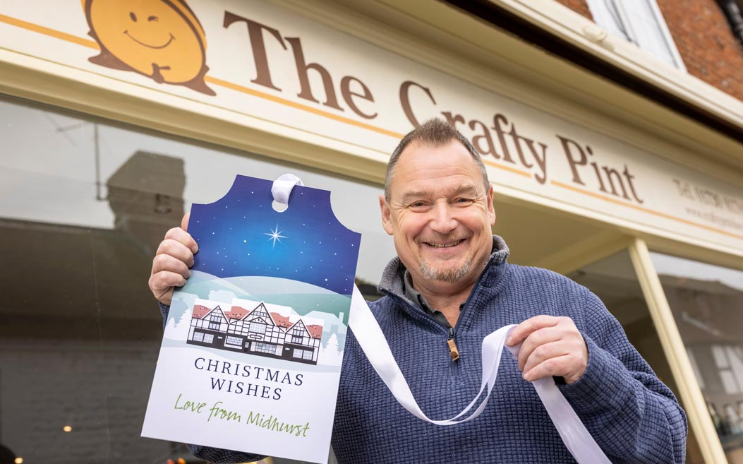 Andrew Chiverton of The Crafty Pint, Midhurst. Photo credit: Christopher Ison