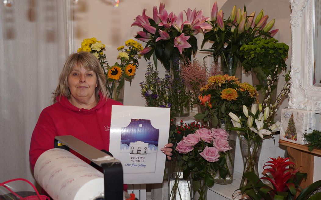 Dawn Eames of Village Flowers, Selsey