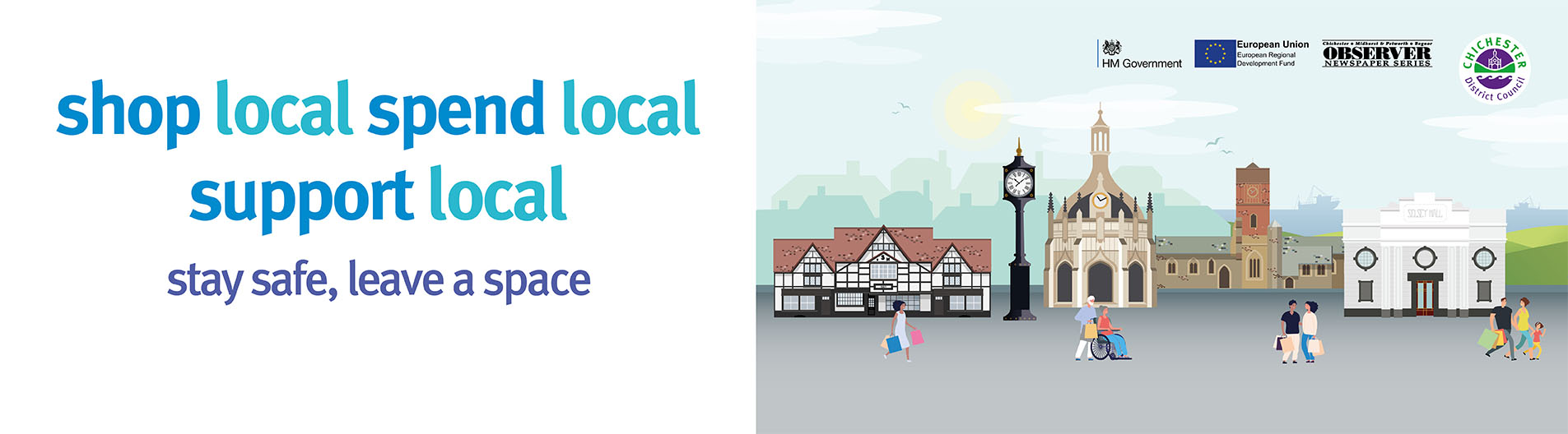 Our high streets welcome you back – help us Support Local