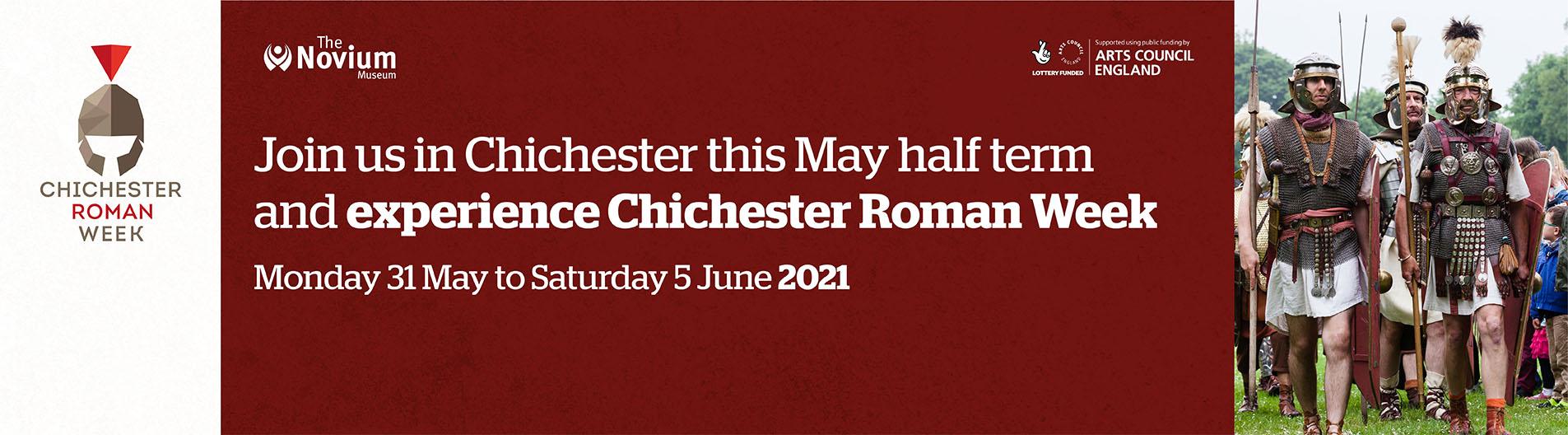 Roman Week – 31 May to 5 June 2021