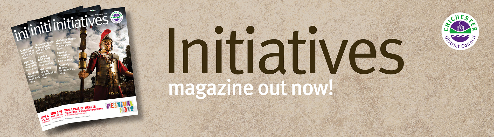 Initiatives Spring 2019 magazine